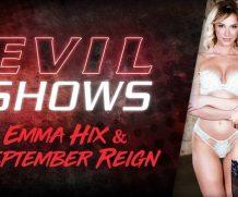 EvilAngel Evil Shows – Emma Hix & September Reign  HD VIDEO Siterip 1080p HD