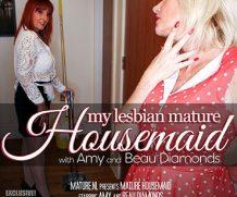 MATURE.NL Housemaid Beau Diamonds seduces mature lesbian Amy  [SITERIP VIDEO 2020 hd wmv 1920×1200]