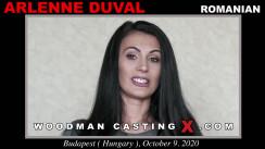 WoodmancastingX.com Arlenne Duval Release: 20:45  WEB-DL Mutimirror h.264 DVX
