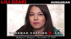 WoodmancastingX.com Lili Ozaki Release: 30:30  WEB-DL Mutimirror h.264 DVX