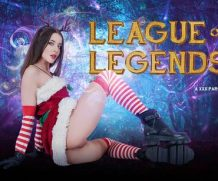 Badoink VR League of Legends: Katarina A XXX Parody VR Porn Video  WEB-DL VR  2060p Binaural