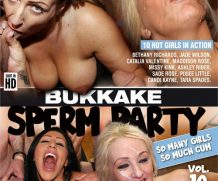 Bukkake Sperm Party Vol. 10 DVD Release  [DVD.RIP. H.264 Production Year 2019]