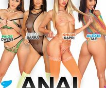 Anal Brats 8 DVD Release  [DVD.RIP. H.264 Production Year 2019]