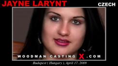 WoodmancastingX.com Jayne Larynt Release: 5:14  WEB-DL Mutimirror h.264 DVX