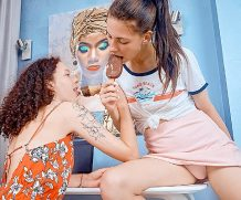 Beauty-Angels.com Lesbians share ice-cream and dildo  [SITERIP TEENMEGAWORLD.NET H.264 VIDEO]