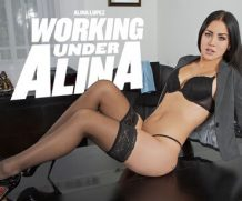 Badoink VR Working Under Alina  VR Porn Video  WEB-DL VR  2060p Binaural