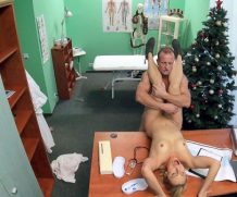 Fake Hospital Doctor Santa cums twice this year ft Brittany Bardot – FakeHub.com  [HD VIDEO 720p Siterip mp4