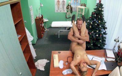 Fake Hospital Doctor Santa cums twice this year ft Brittany Bardot – FakeHub.com  [HD VIDEO 720p Siterip mp4