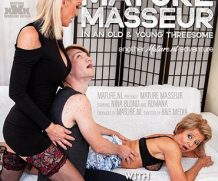 MATURE.NL A granny and a MILF seduce a young masseur in a threesome  [SITERIP VIDEO 2020 hd wmv 1920×1200]