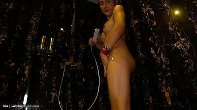 Ladyboygold Ladyboy Ice 8 in Suspenders Skirt, Metal Plug Jizz Hole 4k  LBGTP TEAM WEB-DL Siterip 720p