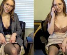 MANYVIDS charlottehazey in Secretary Striptease Edging Game JOI  Video Clip WEB-DL 1080 mp4