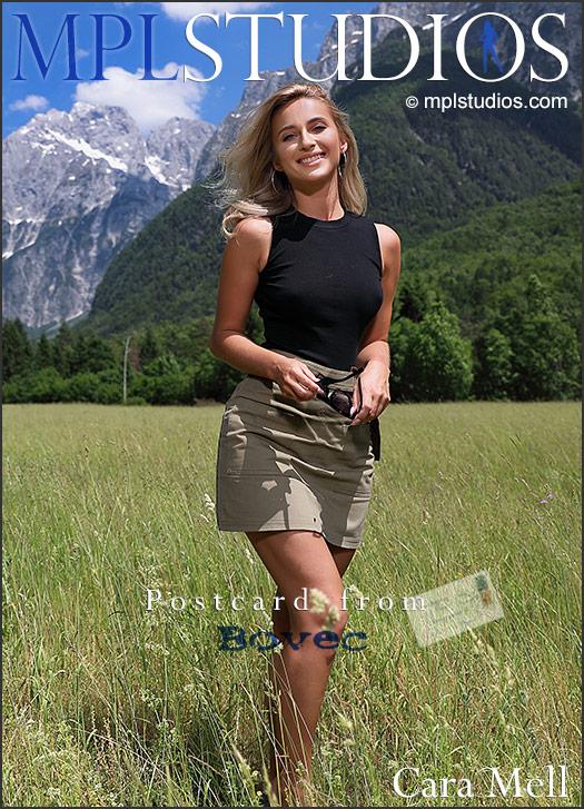 MPLSTUDIOS Cara Mell Postcard from Bovec  Picset Siterip Siterip RIP