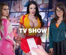 VrCosplayX Cosplay TV Show Compilation VR Porn Video  WEB-DL VR  2060p Binaural