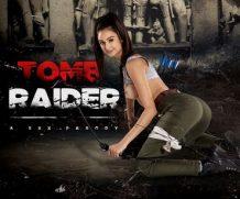 VrCosplayX Tomb Raider A XXX Parody VR Porn Video  WEB-DL VR  2060p Binaural