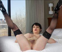 Darkside Horny Charlotte Gregg!  Shemale XXX WEB-DL Groobynetwork