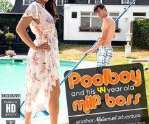 MATURE.NL Poolboy Josh is doing his hairy MILF boss Sahara Knite in the garden  [SITERIP VIDEO 2020 hd wmv 1920×1200]