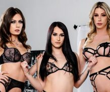Take A Ride On The Trans Train #02 – Casey Kisses,  Khloe Kay & Jade Venus with Casey Kisses Devilsfilm  Siterip 1080p Video only]