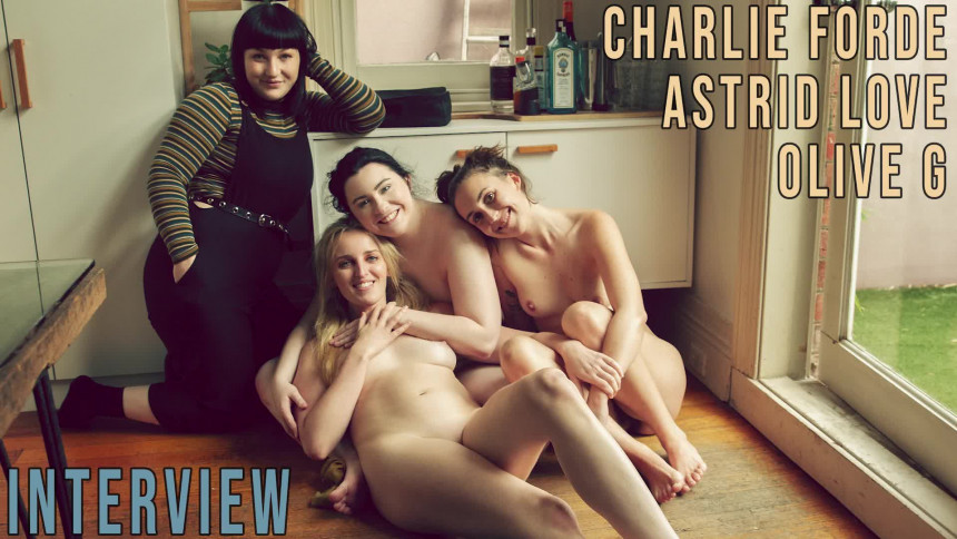 Girls out West Astrid Love, Charlie Forde & Olive G - Interview...  GAW  Siterip 1080p wmv HD Siterip RIP