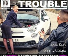 MATURE.NL Classy MILF Lucia Kury is stripping for a toyboy after  helping out with her car  [SITERIP VIDEO 2020 hd wmv 1920×1200]