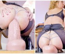 MANYVIDS ArgenDana in STRETCHING WITH MY NEW DILDO  Video Clip WEB-DL 1080 mp4