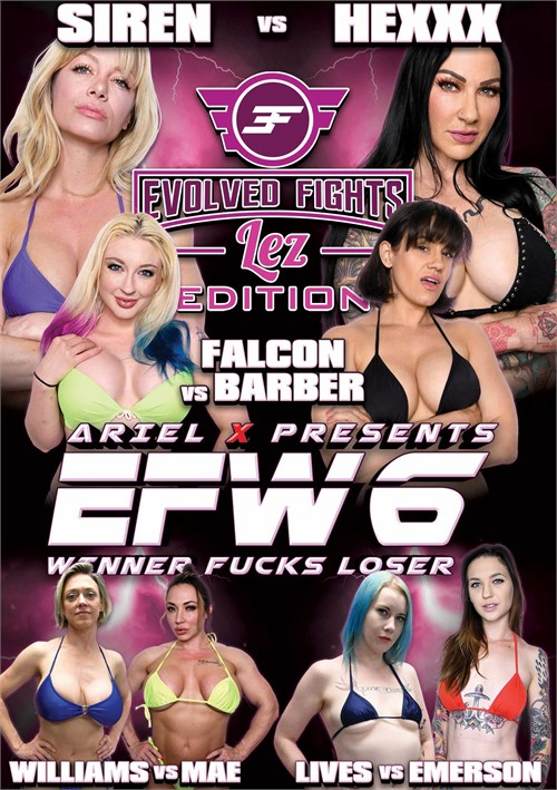 EFW6: Winner Fuck Loser - Lez Edition DVD Release  [DVD.RIP. H.264 Production Year 2019] Siterip RIP