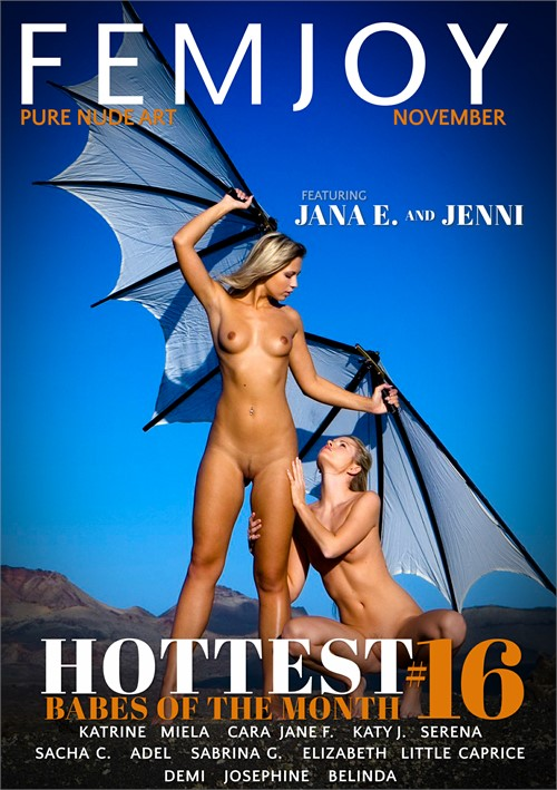 Hottest Babes Of The Month #16 DVD Release  [DVD.RIP. H.264 Production Year 2019] Siterip RIP