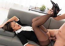 Legsjapan Rei Hoshino Office Girl Leg Fetish Sex  WEBRIP Video h.265 Multimirror