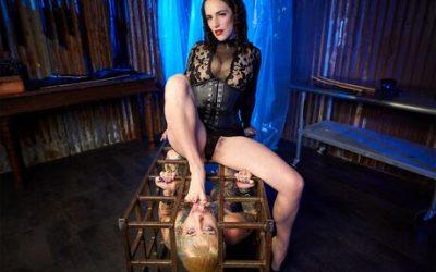 Kink VR KinkVR The Lezdom Cage Dominion VR Porn Video  WEB-DL VR  2060p Binaural