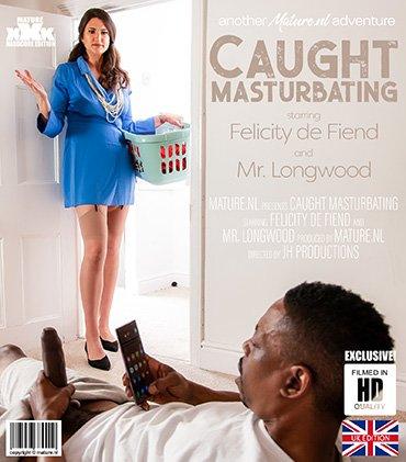 MATURE.NL Tall MILF catches black guy jerking off his big black cock  [SITERIP VIDEO 2020 hd wmv 1920x1200] Siterip RIP
