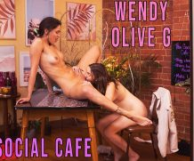 Girls out West Olive G & Wendy – The Social Cafe  GAW  Siterip 1080p wmv HD
