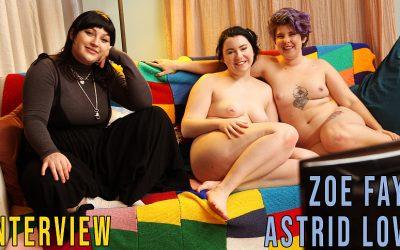 Girls out West Astrid Love & Zoe Faye – Interview  GAW  Siterip 1080p wmv HD