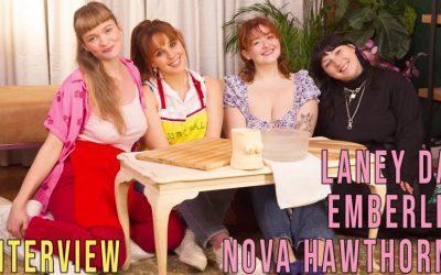 Girls out West Emberley, Laney Day & Nova Hawthorne – Interview…  GAW  Siterip 1080p wmv HD