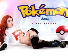 VrCosplayX Pokemon: Team Rocket Jessie A XXX Parody VR Porn Video  WEB-DL VR  2060p Binaural