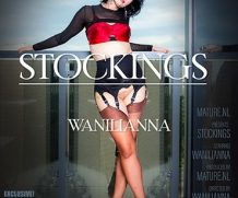 MATURE.NL Wanilianna is a hot MILF showing off her stockings  [SITERIP VIDEO 2020 hd wmv 1920×1200]