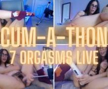 MANYVIDS LanaTy in LIVE CUM-A-THON — 7 ORGASMS  Video Clip WEB-DL 1080 mp4