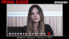 WoodmancastingX.com Irina Cage - Casting X Release: 32:59  WEB-DL Mutimirror h.264 DVX Siterip RIP